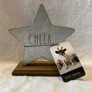 "Rae Dunn ""Cheer"" Plaque"